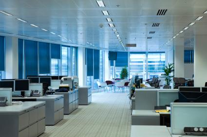 Ifälld kontorsbelysning ingår i Fagerhults produktsortiment