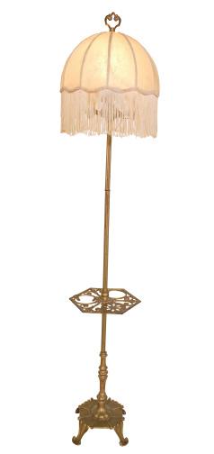 Golvlampa från mitten av 1950-talet