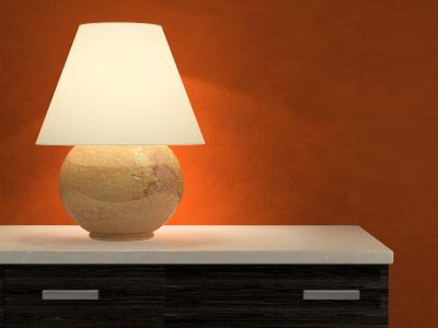 Enkla lampskärmar kan med fördel köpas på nätet