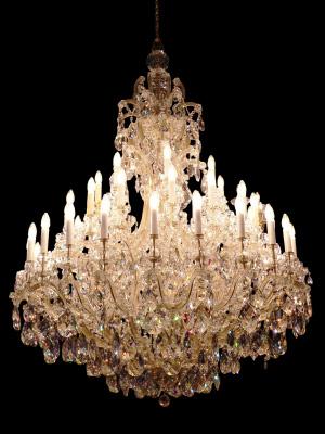 Skenet kan bedra - trots att kristallkronan ser antik ut kan den vara en modern kopia på en klassisk kristallkrona