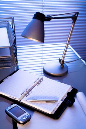 En bra skrivbordslampa ska vara riktbar