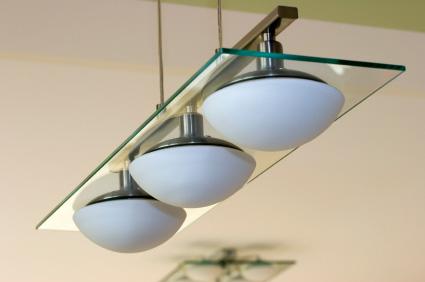 Snygga taklampor ska passa övrig rumsinredning