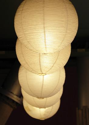 Stora taklampor passar bra i utrymmen med rymd och takhöjd